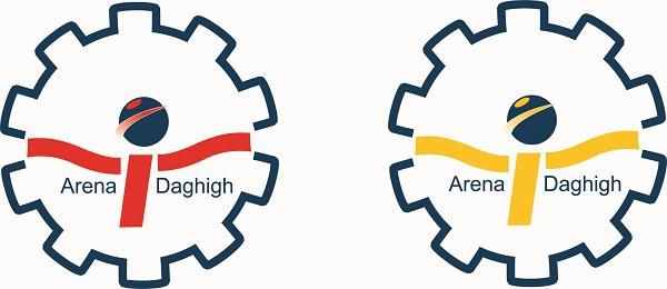 مراحل طراحی آرم برای شرکت تامین دقیق آرنا